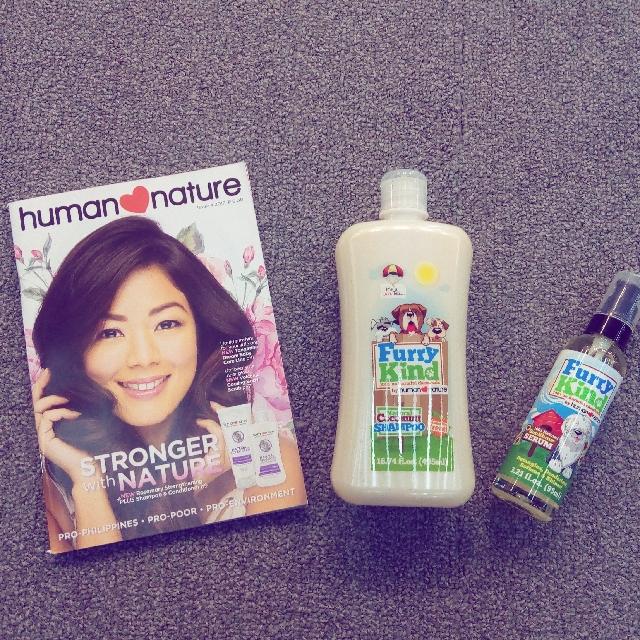 Organic Pet Shampoo And Fur Serum
