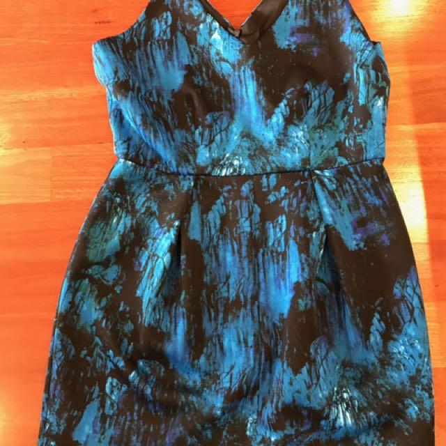 Pilgrim Size 12 Dress. Pilgrim. Size 12 Blue Dress. Evening Dress/day Dress