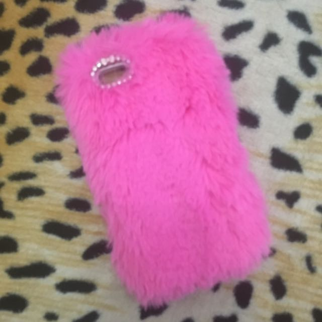 Pink Furry Case