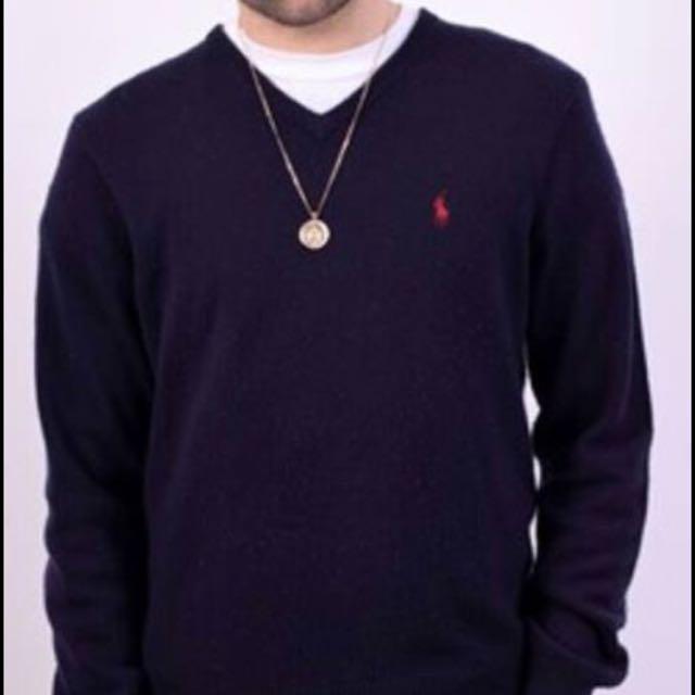 Ralph Lauren Vneck Sweater