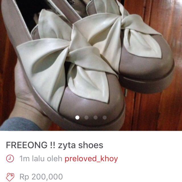 REPRICE ‼️ zyta shoes ORI size 39 (24,5cm)