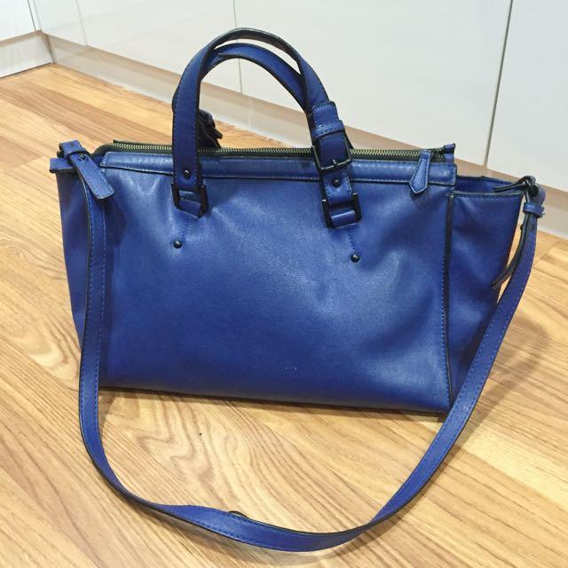 Resell Electric Blue Zara Bag