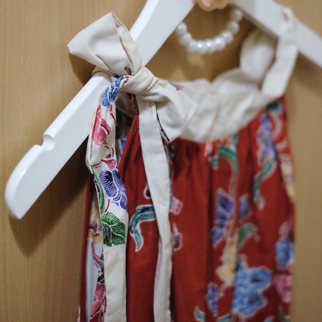 RIBBON BATIK DRESS