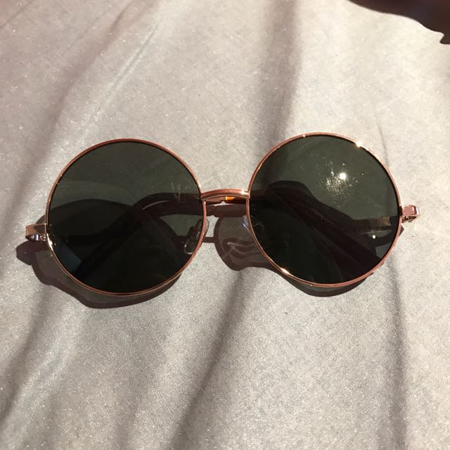 Round Forever 21 Sunglasses