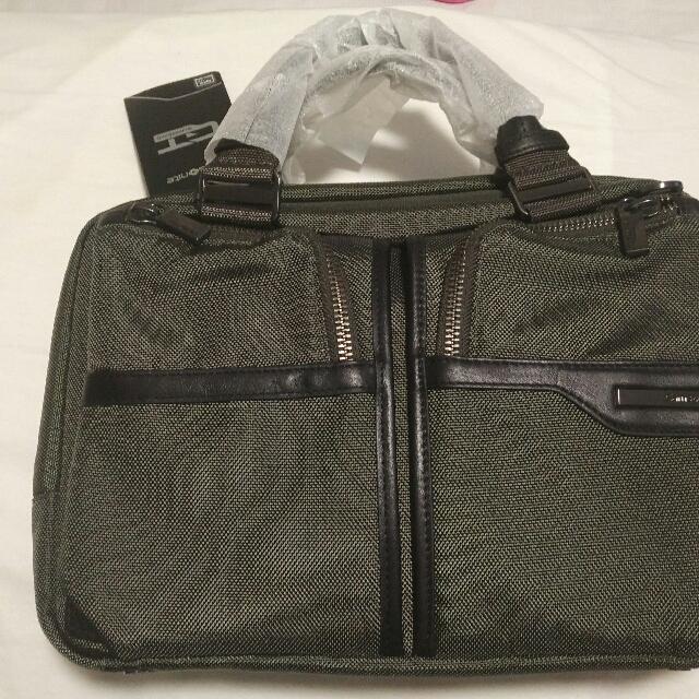 aaeb8d7574 Samsonite GT Supreme Laptop Office Casual Bag Briefcase, Men's ...
