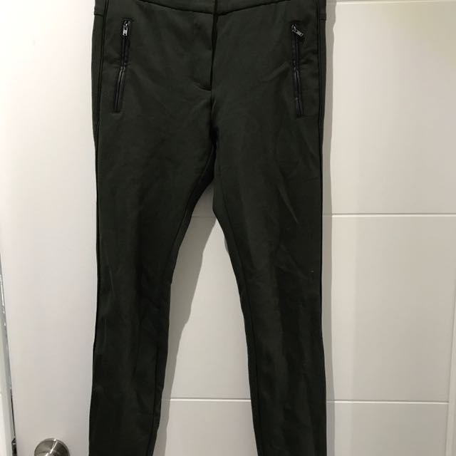 Stretchy Green Trousers