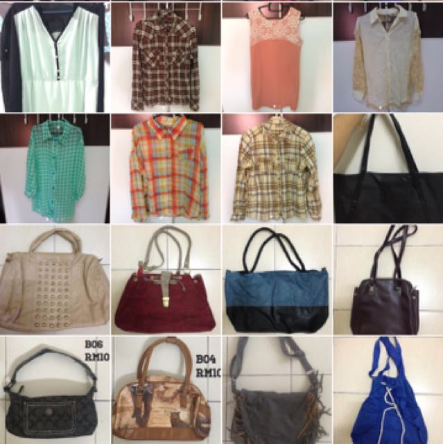 Tank Top / Longsleeve / Bag / Handbag / Slingbag
