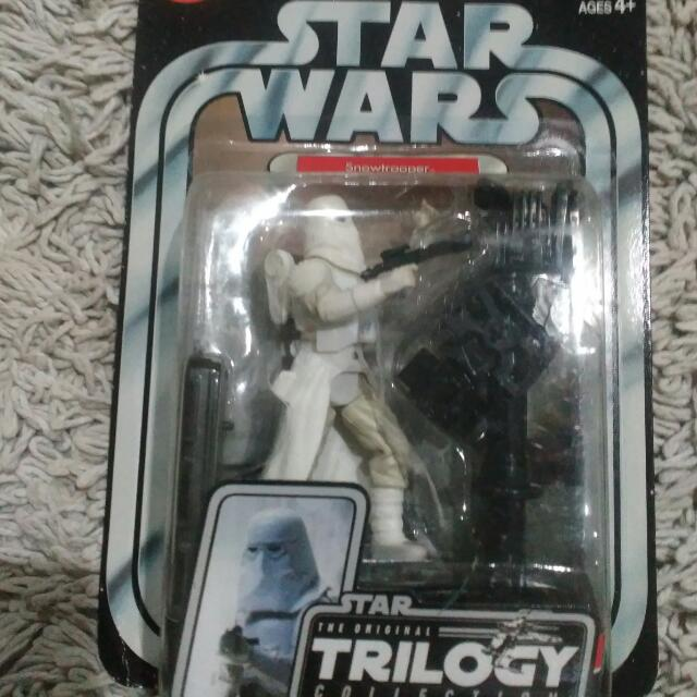 Toys Snow Troopers Star Wars Trilogy