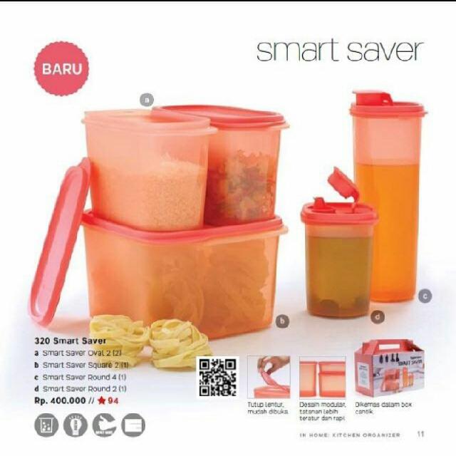 e67090a41 Tupperware Smart Saver Set