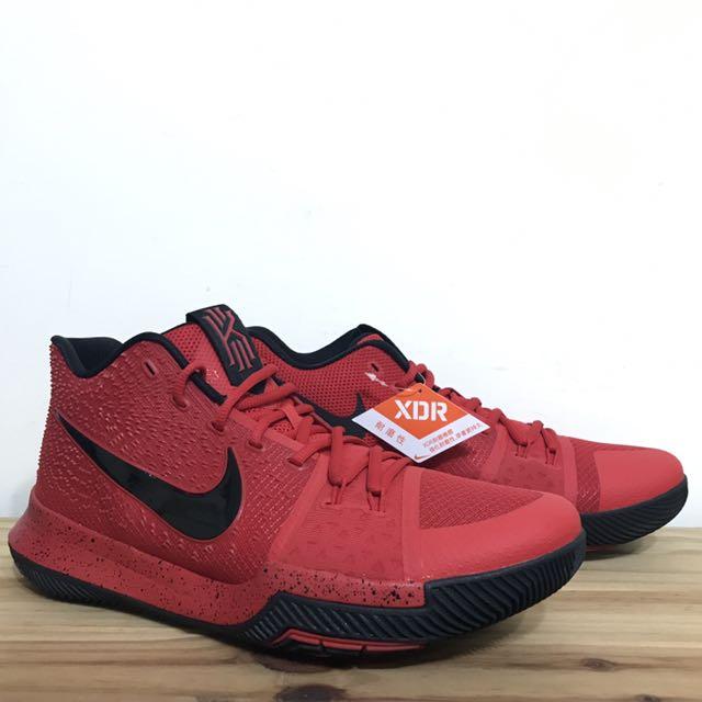 US12 NIKE KYRIE 3 EP red Black 黑紅 反光 籃球鞋 三分球大賽 大尺寸 852396-600