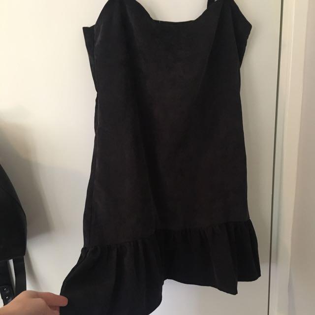 velvet corded dress