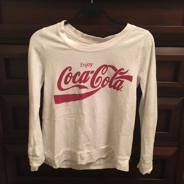 Vintage Coca Cola Long Sleeve