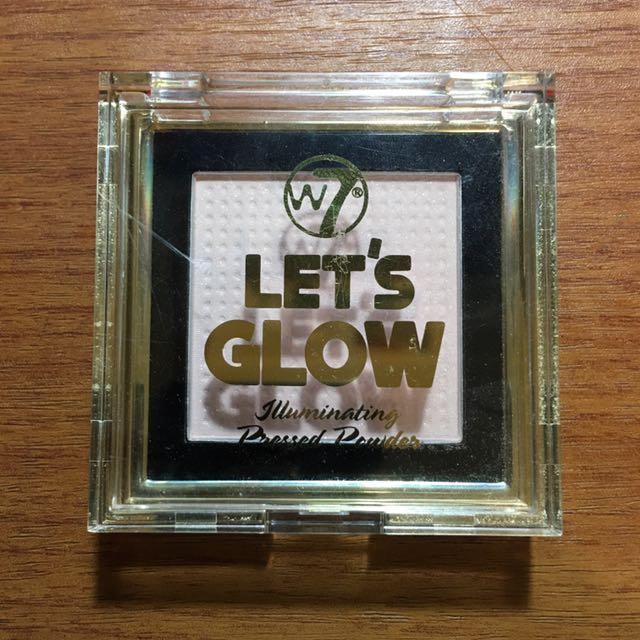W7 'Let's Glow' Iluminating Pressed Powder