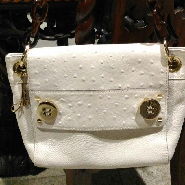 White Milly Shoulder Bag