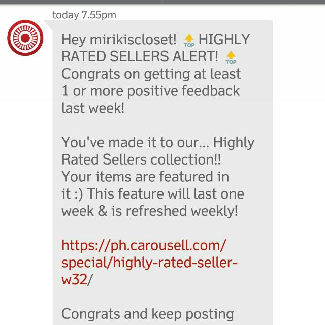 Yay 💞😘😍💝💗.. My 3rd Time 👄... Ty CAROUSELL!!!!💃