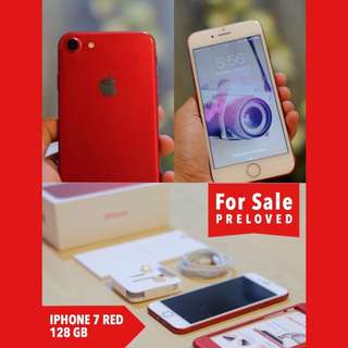 iphone 7 Red Edition 128 GB