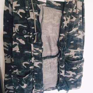 ARDENE Camo Jacket