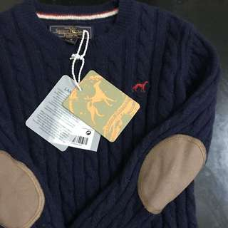 NWT! Authentic Sacoor Sweater