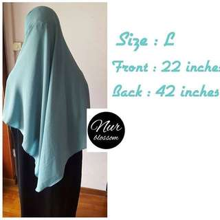 2 Loops Wide shawl
