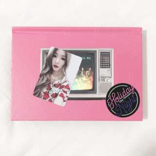 [ WTS ] SNSD Night Album + Poster + Tiffany PC