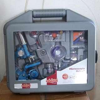 超抵買! 西班牙品牌 Eduland 全新顯微鏡工具箱