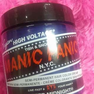 Manic Panic Hair Color After Midnight