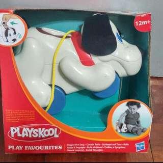 全新名牌Playskool玩具音樂狗