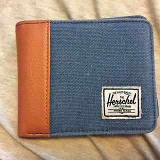 Blue Herschel Wallet