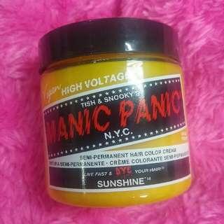 Manic Panic Hair Color Sunshine