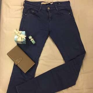 🚚 ZARA premium wash 水藍色牛仔褲#丹寧褲