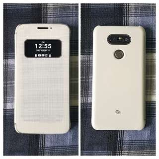 White LG G5 Phone Case