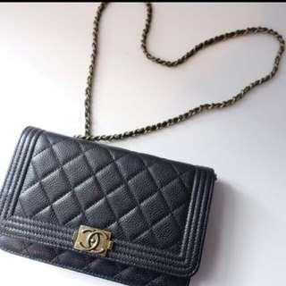 Chanel CC boy Wallet On Chain Woc