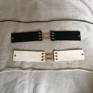 CHOKER WITH GOLD DETAIL