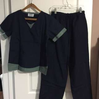 Nursing Scrubs Navy Blue