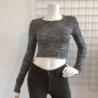 Wilfred Long Sleeve Crop Rop