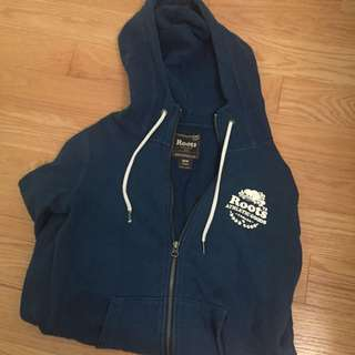 Roots Zip up Hoddie