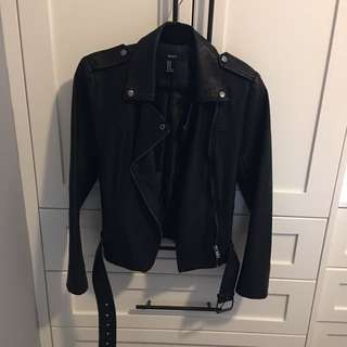 Faux leather Jacket Forever 21