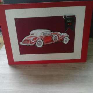 Handmade Decoupage Car Card