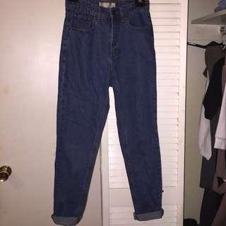 Boohoo Blue Jeans