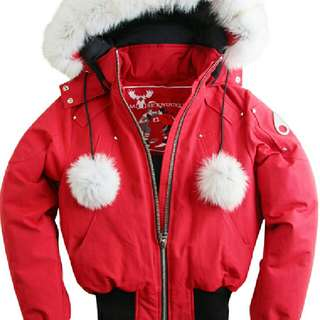 Medium Red Moose Knuckles Jacket