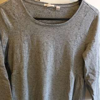 ESPRIT Women's Grey Top Size Small