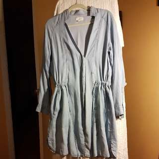 Denim Dress, Sz M,