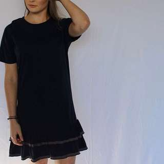 Lower Frill Dress