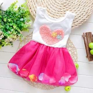 [Sederhana dan Cantik] Dress Kanak-kanak