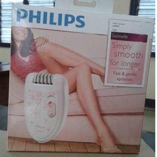 Philips Satinelle Epilator (Pencabut Bulu Elektrik - termurah)