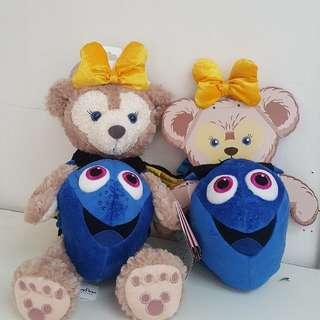香港迪士尼 Duffy Shelliemay FINDING DORY 43cm熊 衣服