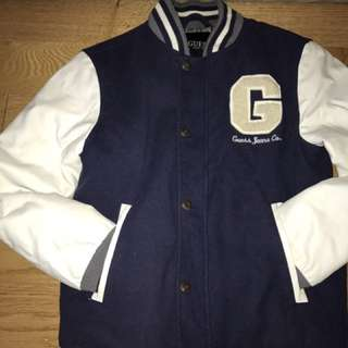 BOYS GUESS VARSITY JACKET