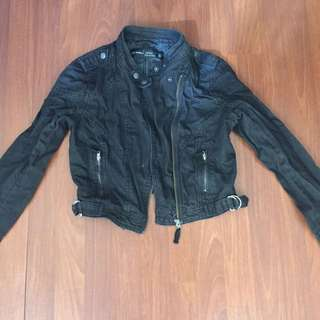 Just Jeans Black Denim Jacket