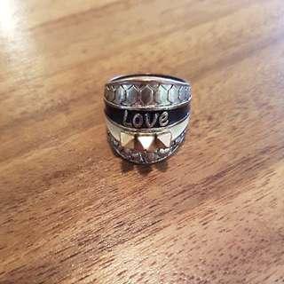 Belle Noel Kim Kardashian Love Ring