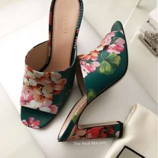 Gucci Blooms Slip Ons